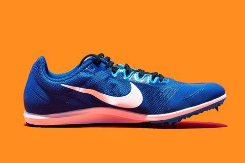 Shoe, Footwear, Running shoe, Outdoor shoe, Orange, Sneakers, Athletic shoe, Walking shoe, Blue, Cross training shoe,