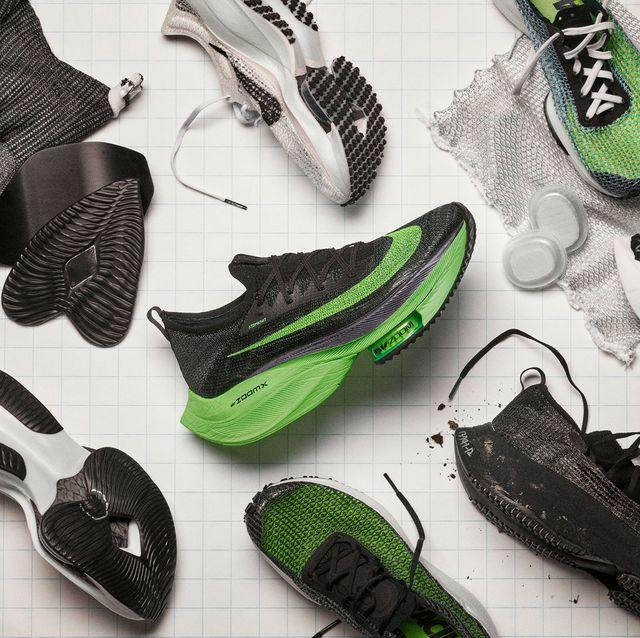 Footwear, Green, Shoe, Font, Design, Sneakers, Athletic shoe, Outdoor shoe, Feather,