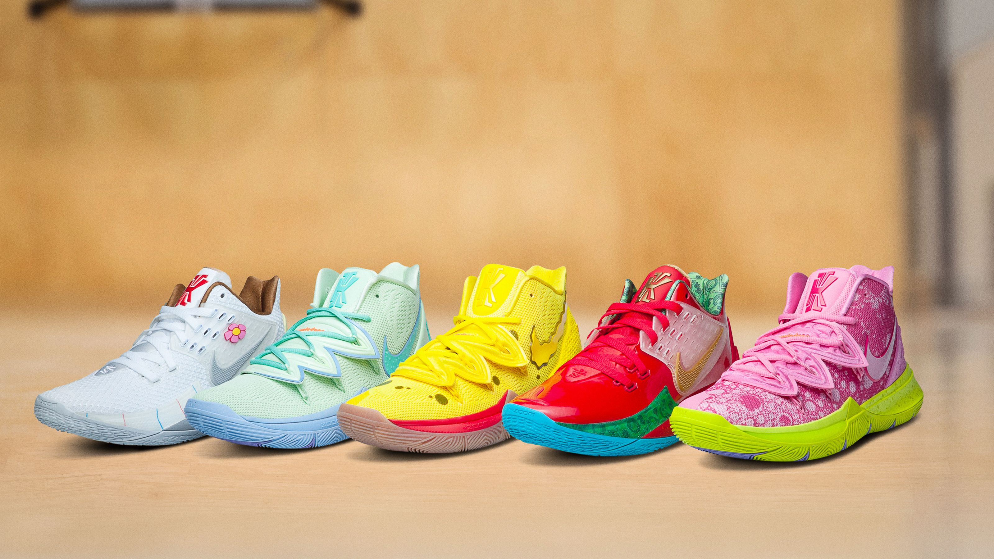 aac26bcc8ad Nike's New SpongeBob x Kyrie Irving Collaboration Will Have You ...