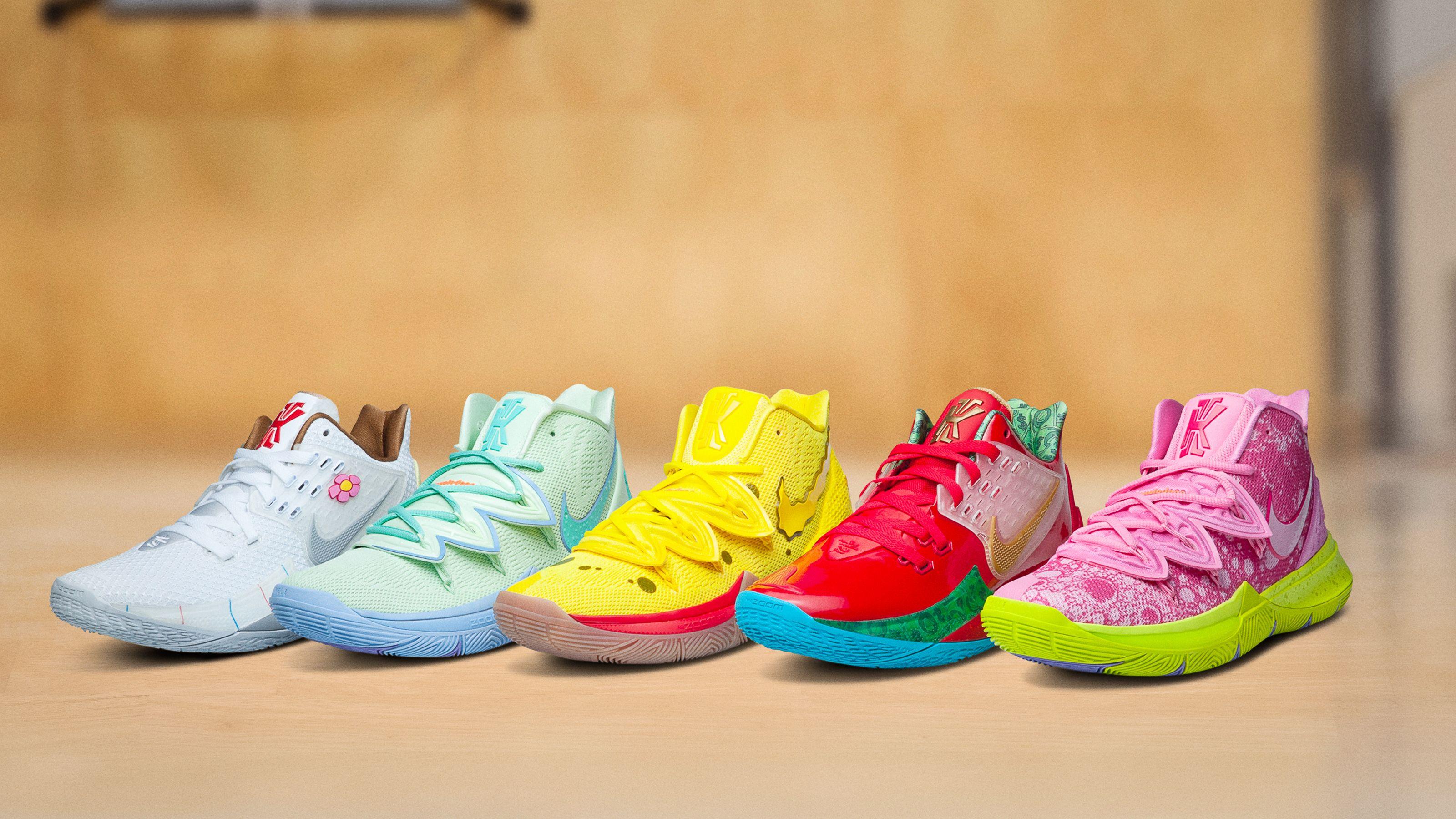 Nike's New SpongeBob x Kyrie Irving