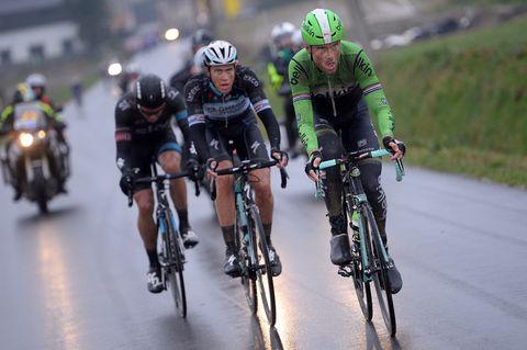 Niki Terpstra en Lars boom in Parijs-Roubaix