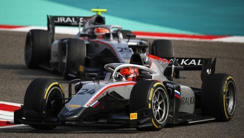formula 2 championship   round 11sakhir   feature race