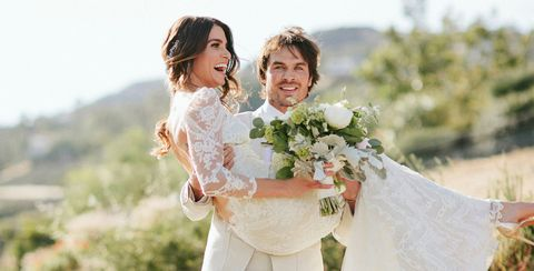 5cbb514e890 Celebrity Wedding Dress Inspiration - Gorgeous Celeb Bridal Gowns