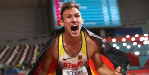 Niklas Kaul, decatlón, Doha 2019, World Championship