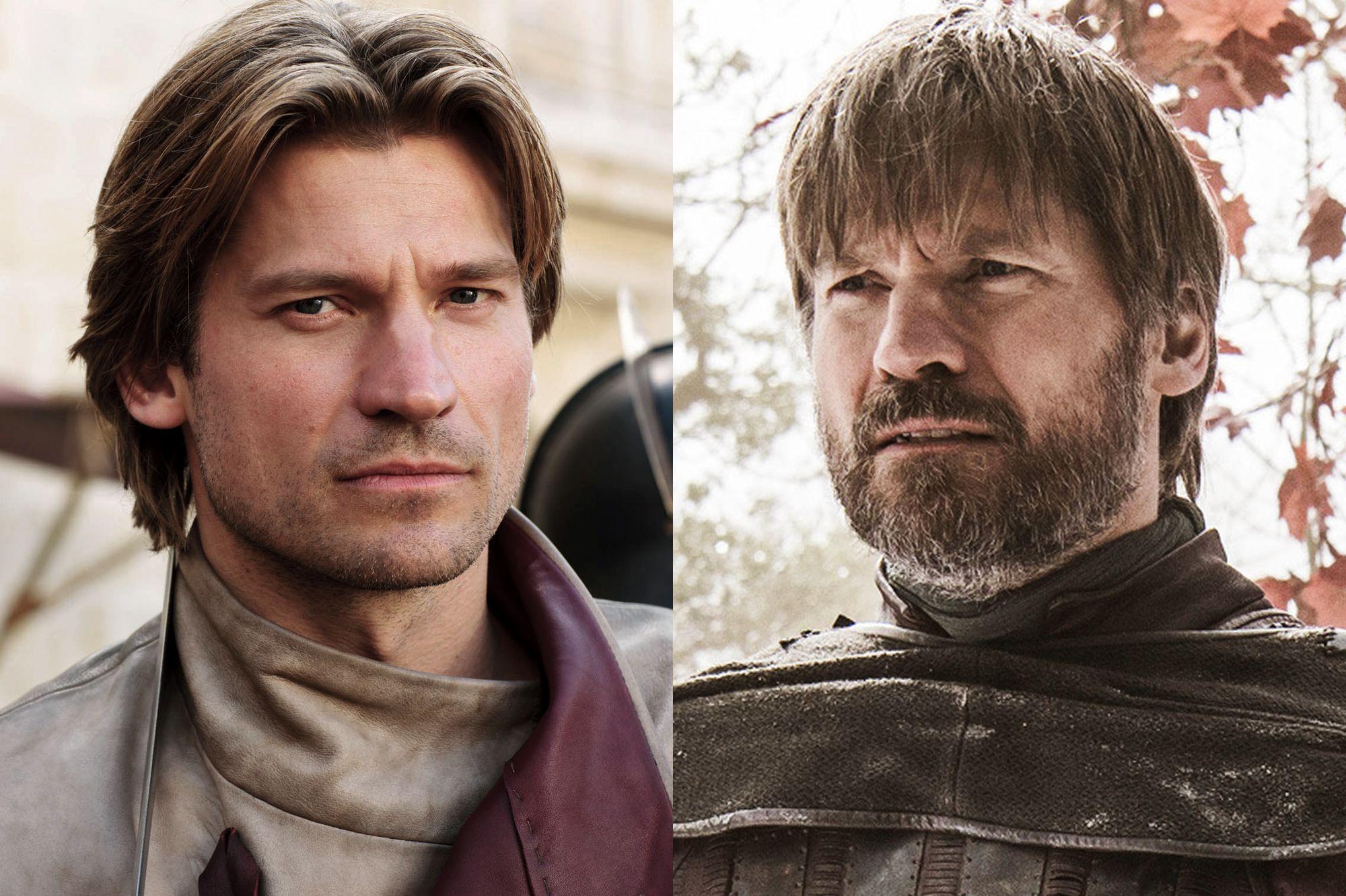 Nikolaj Coster-Waldau as Jaime Lannister Season One to Season Eight.