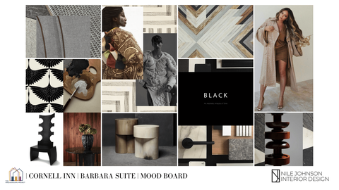 by nile johnson interior design graphic elegance
