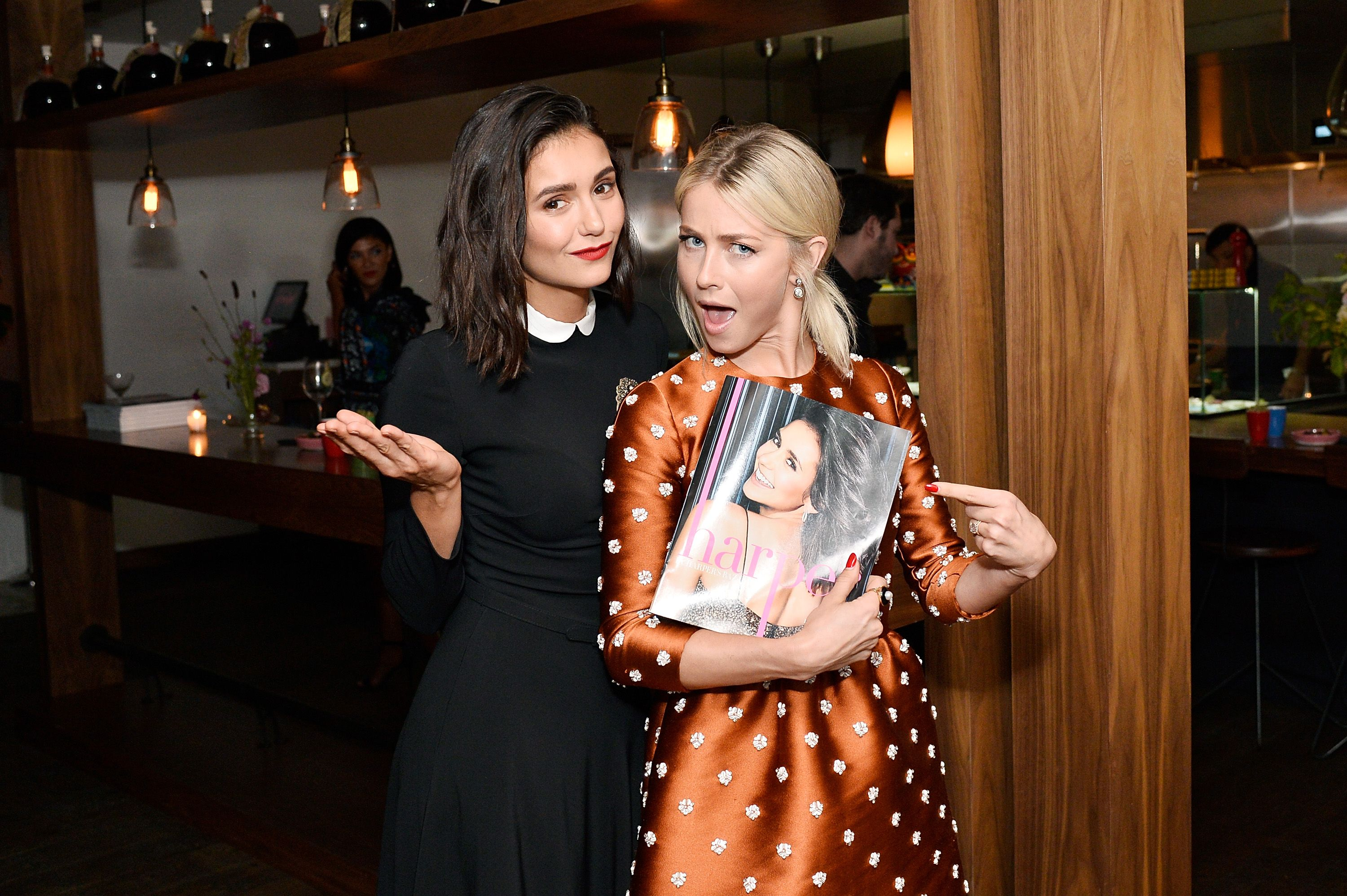 Nina Dobrev Ended Up In The Hospital And Bff Julianne Hough Took A Bunch Of Selfies