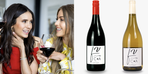 fresh vine wines julianne hough nina dobrev