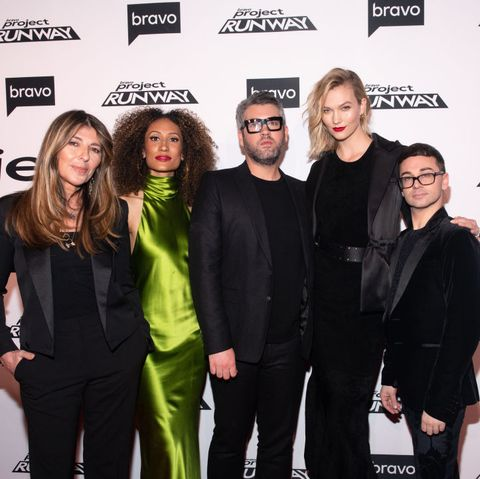 "bravo's ""project runway"" new york premiere"