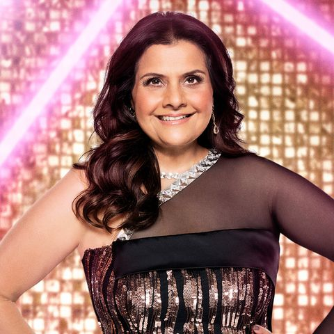 nina wadia, strictly come dancing contestant 2021