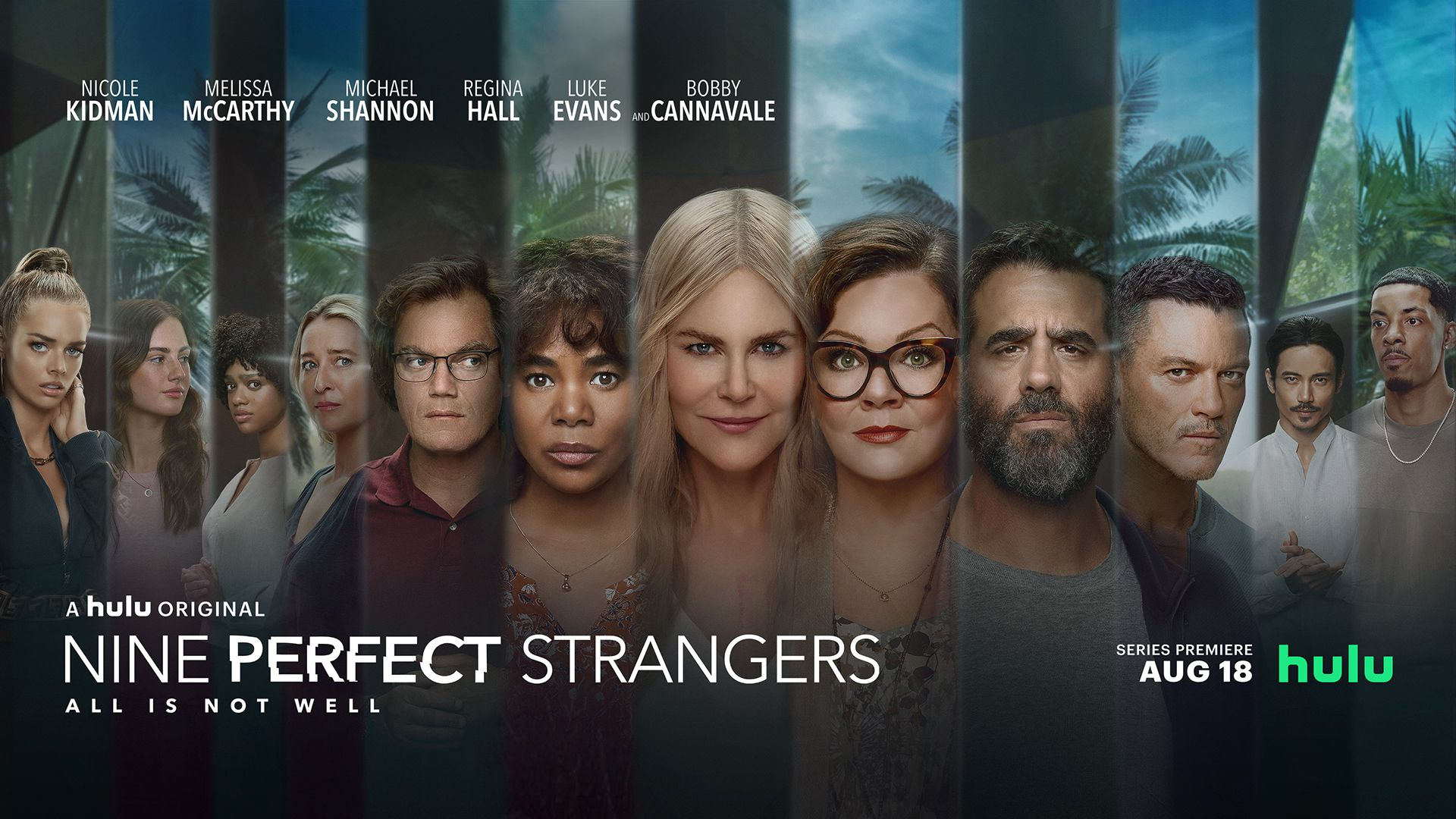 Nine Perfect Strangers' Cast   Actors and Characters