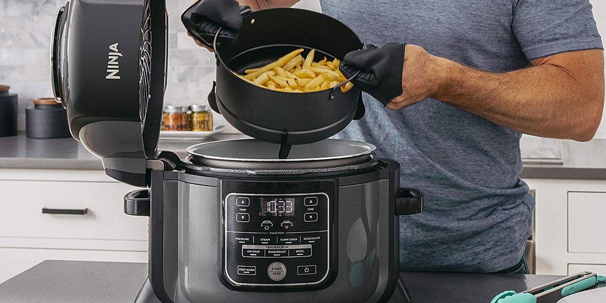 Prime Day Deals: Ninja's Combination Pressure Cooker-Air Fryer
