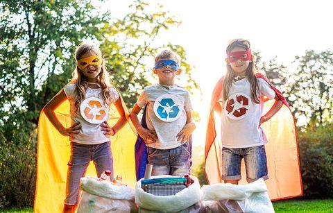 la importancia de enseñar a los niños a reciclar en casa