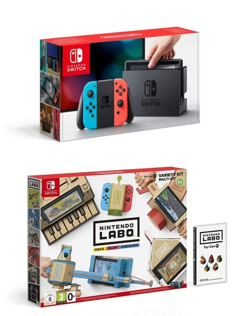 Amazon Prime Day 2018: videojuegos Nintendo Switch Labo