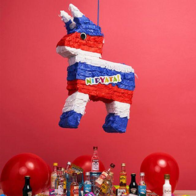 nipyata the freedom donkey alcohol filled pinata