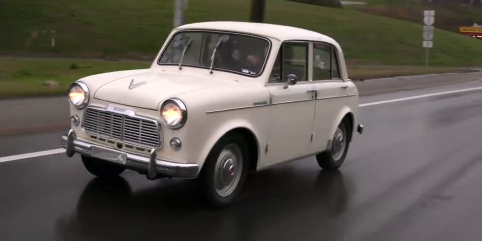 Nissan's First US-Market Car Was More British Than Japanese