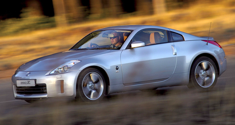 Land vehicle, Vehicle, Car, Motor vehicle, Sports car, Automotive design, Nissan, Nissan 350z, Alloy wheel, Wheel,