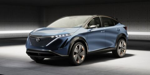 Best Ev Cars >> Nissan Ariya Electric SUV Concept Is Destined for Production