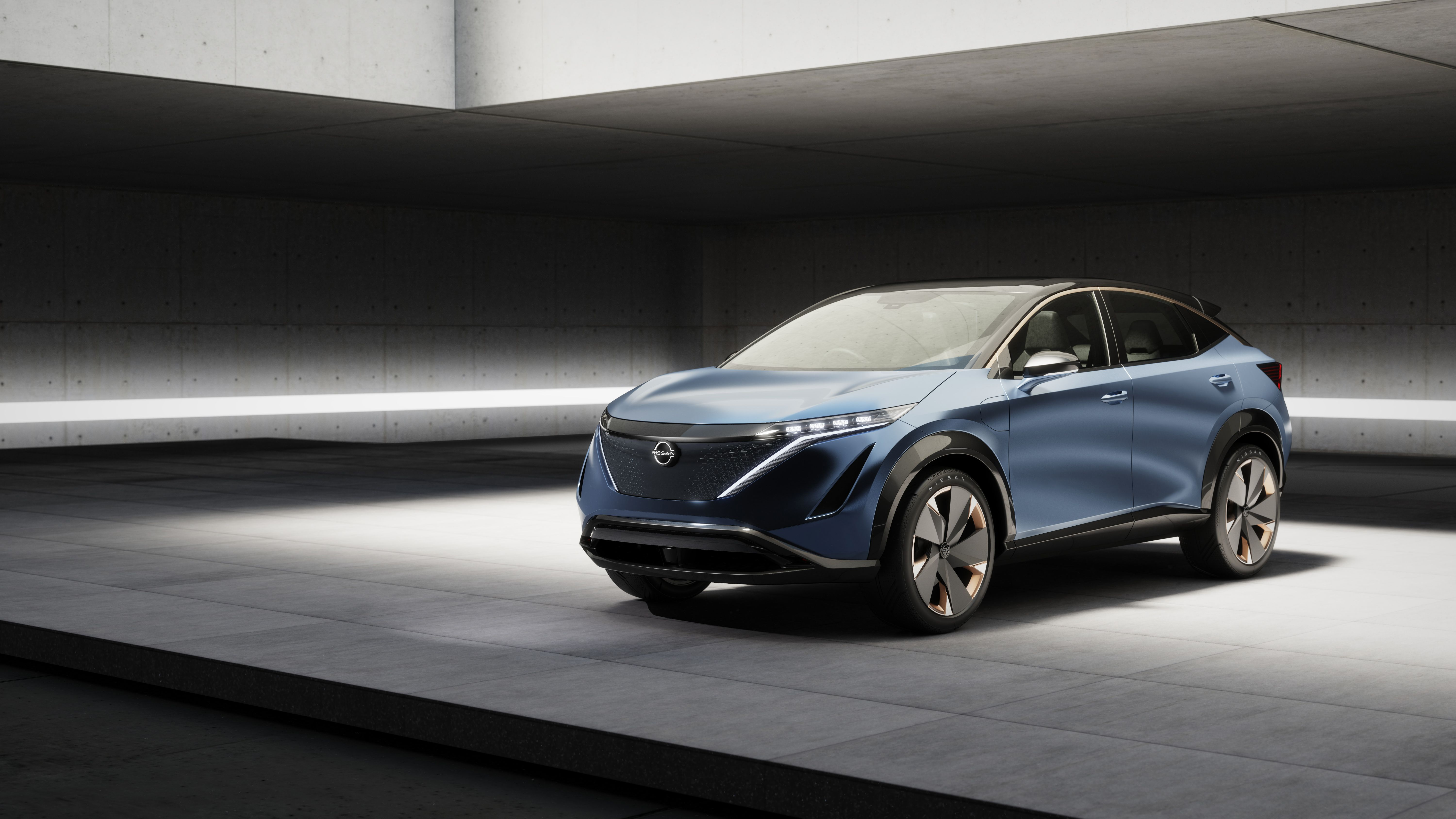Nissan Ariya Electric Suv Concept Is Destined For Production