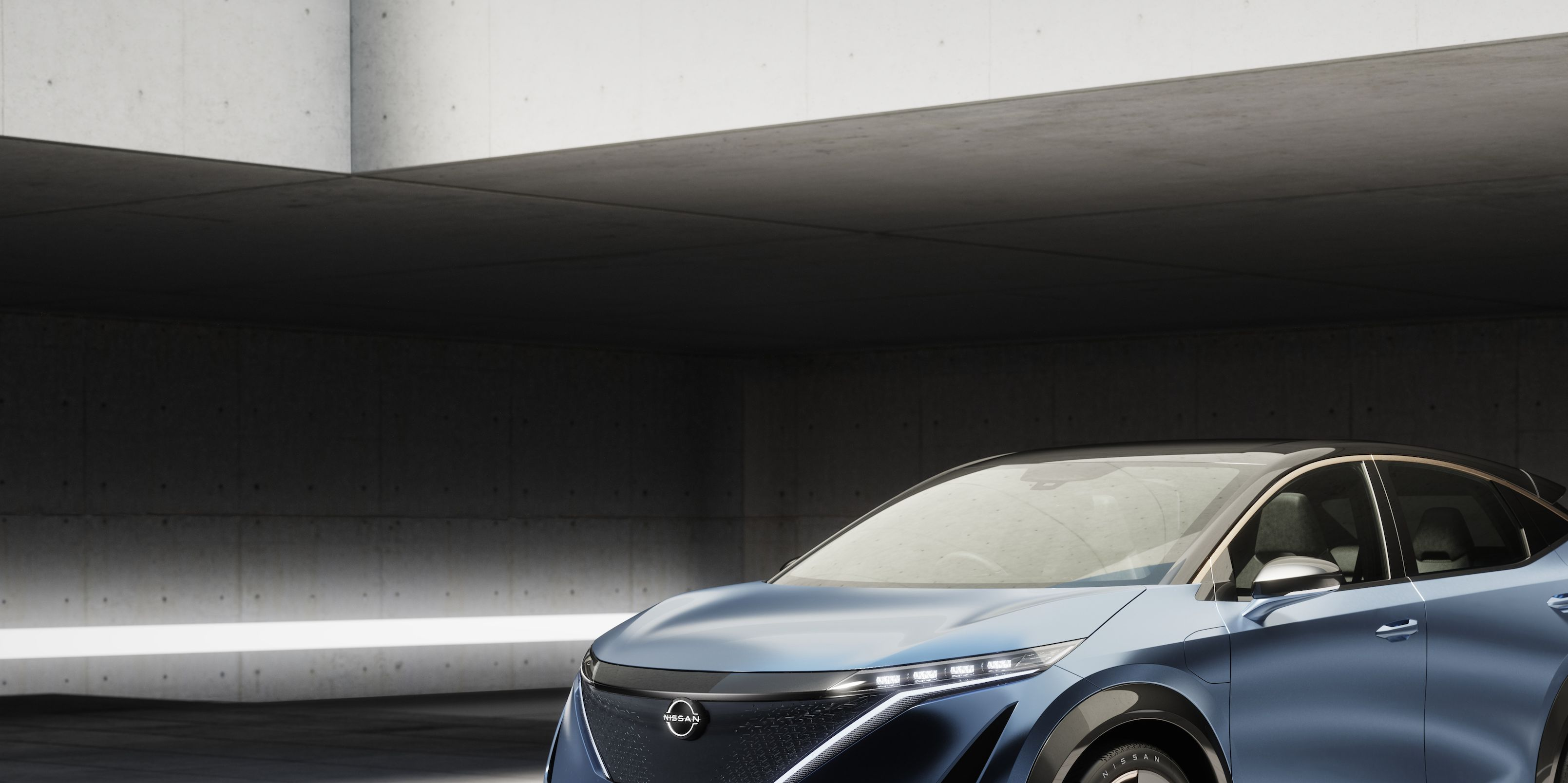 Nissan Ariya EV Concept Has Shield for Its Sensors, Not a Grille