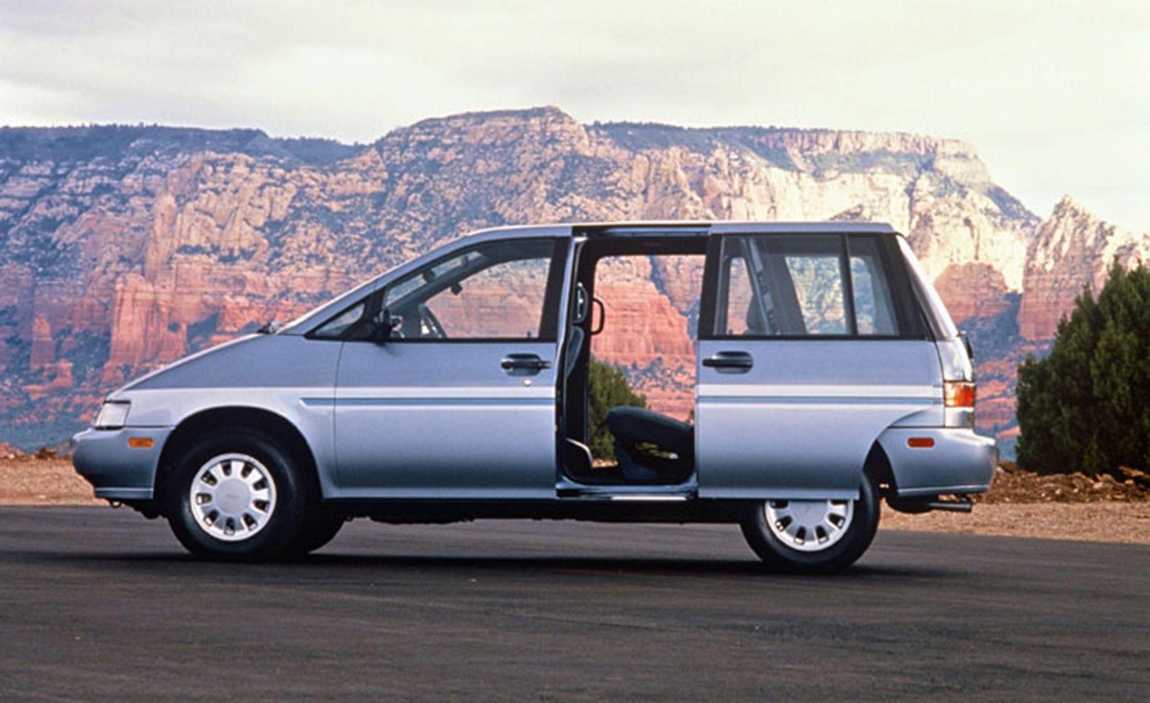 Weirdest Minivans Of All Time