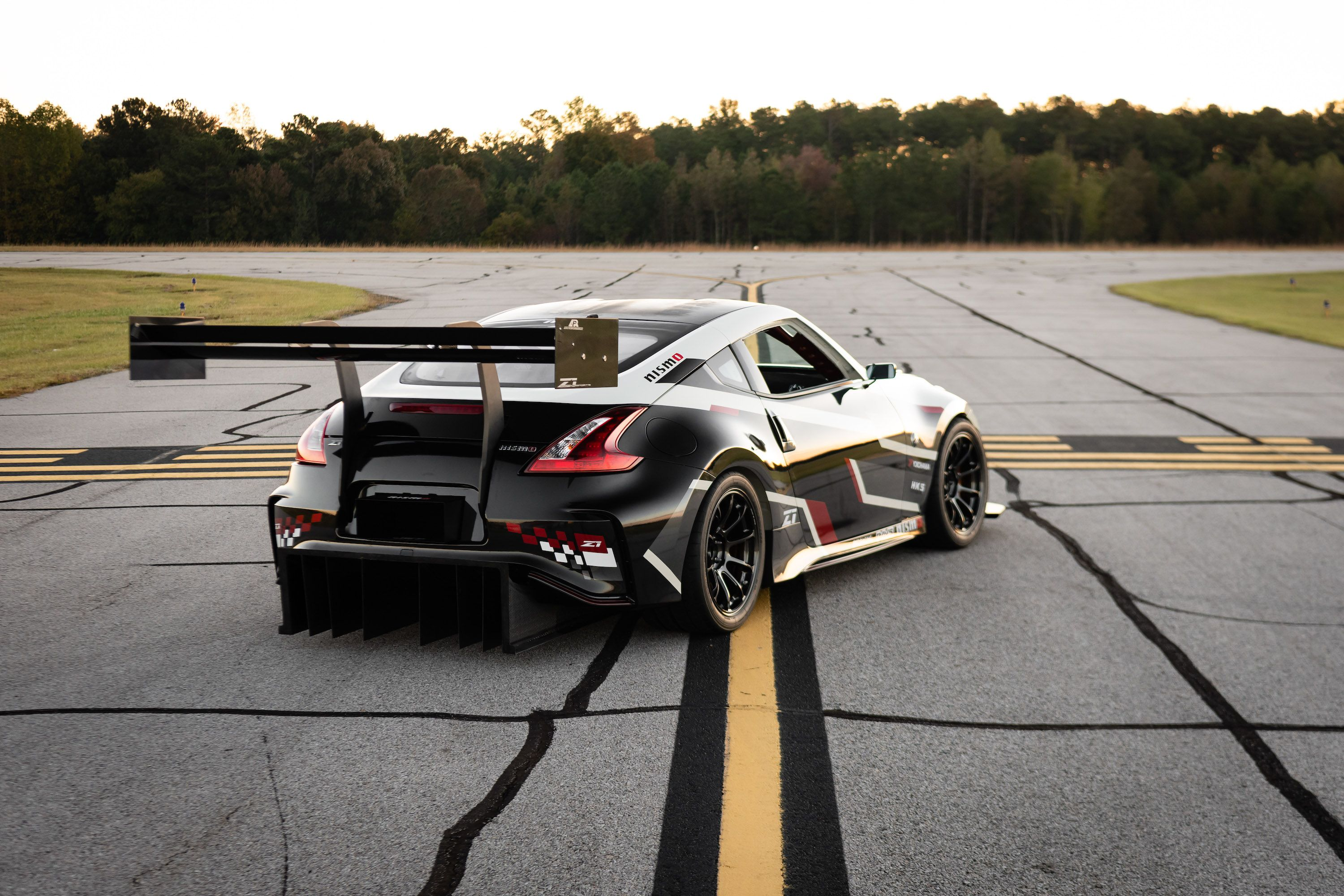 750 Horsepower Nissan 370z Is A Time Attack Race Car