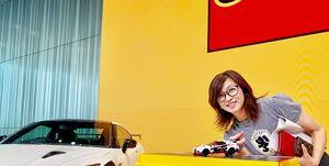 日産「GT-R」とレゴがコラボした様子を吉田由美がYY Car Lifeでリポート