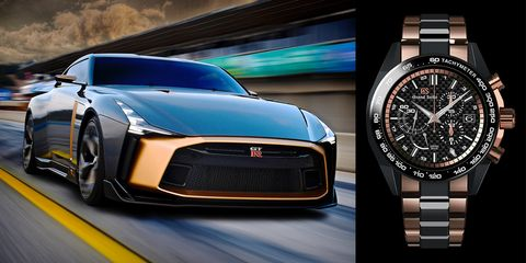 Nissan Commemorates GT-R With Watch That Costs More Than a ...