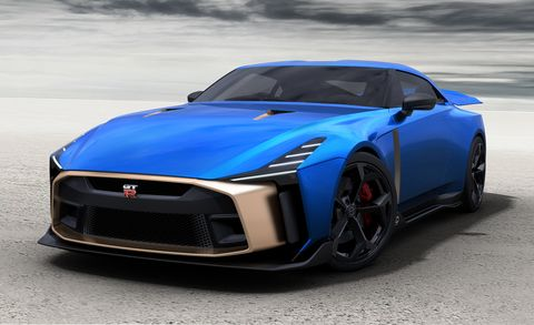 710 Hp Nissan Gt R50 By Italdesign News Car And Driver
