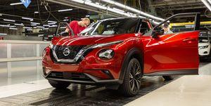 Nissan Juke producción