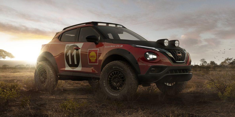 Nissan Juke Rally Tribute Concept: El pequeño crossover se va de Safari