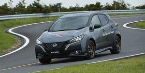 Nissan Leaf Dual motor prototype