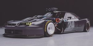 Nissan Skyline GT-R tuning morro largo