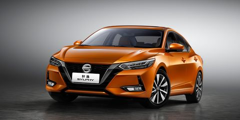 Future Nissan Sentra Sedan China Market Sylphy Gives A Glimpse