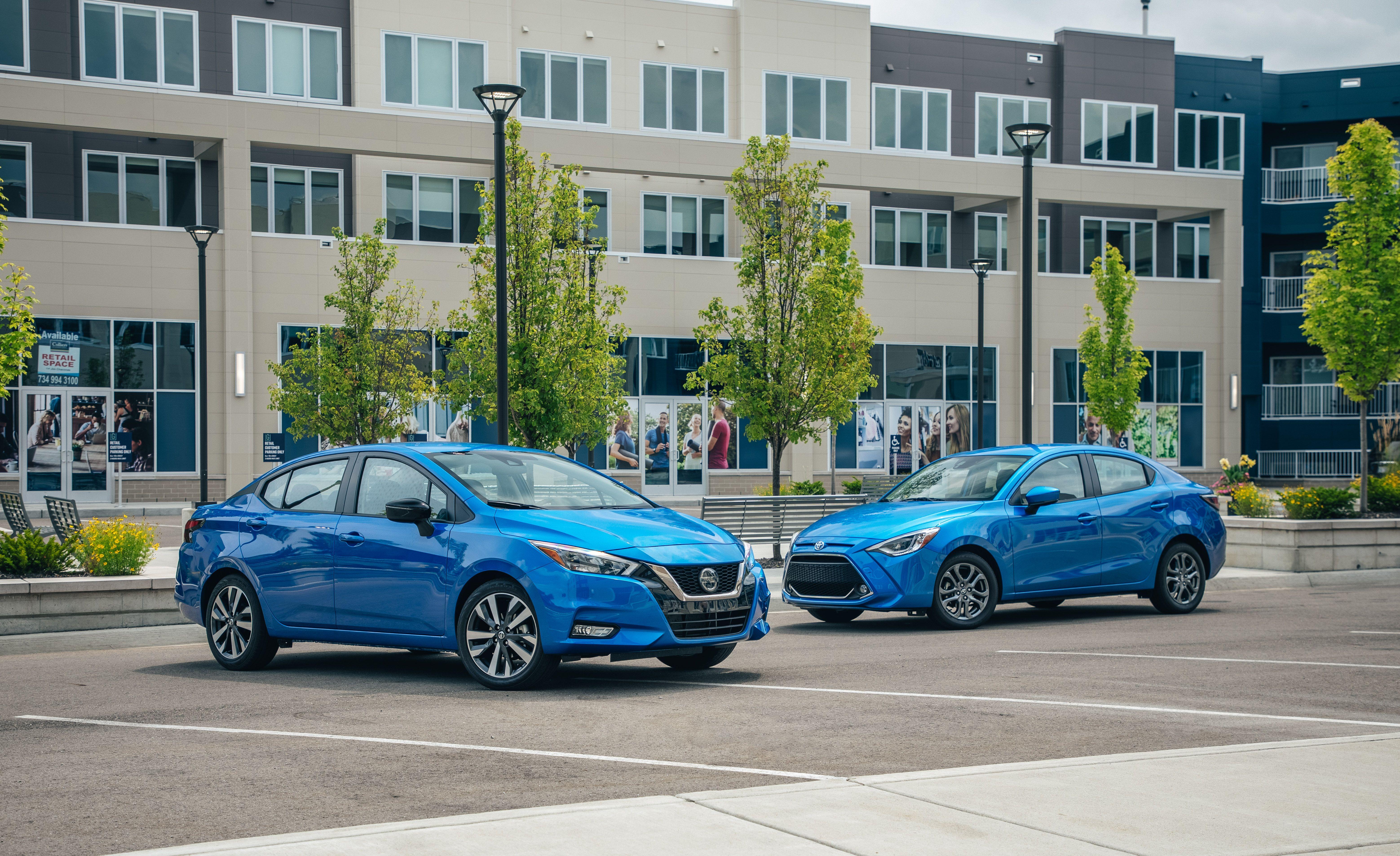 2020 Nissan Versa Vs 2019 Toyota Yaris