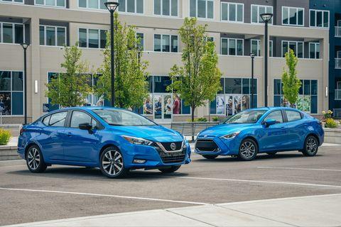 2020 Nissan Versa vs 2019 Toyota Yaris: Solid Subcompact Sedans Face Off