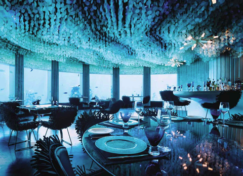 Hoteles bajo el mar
