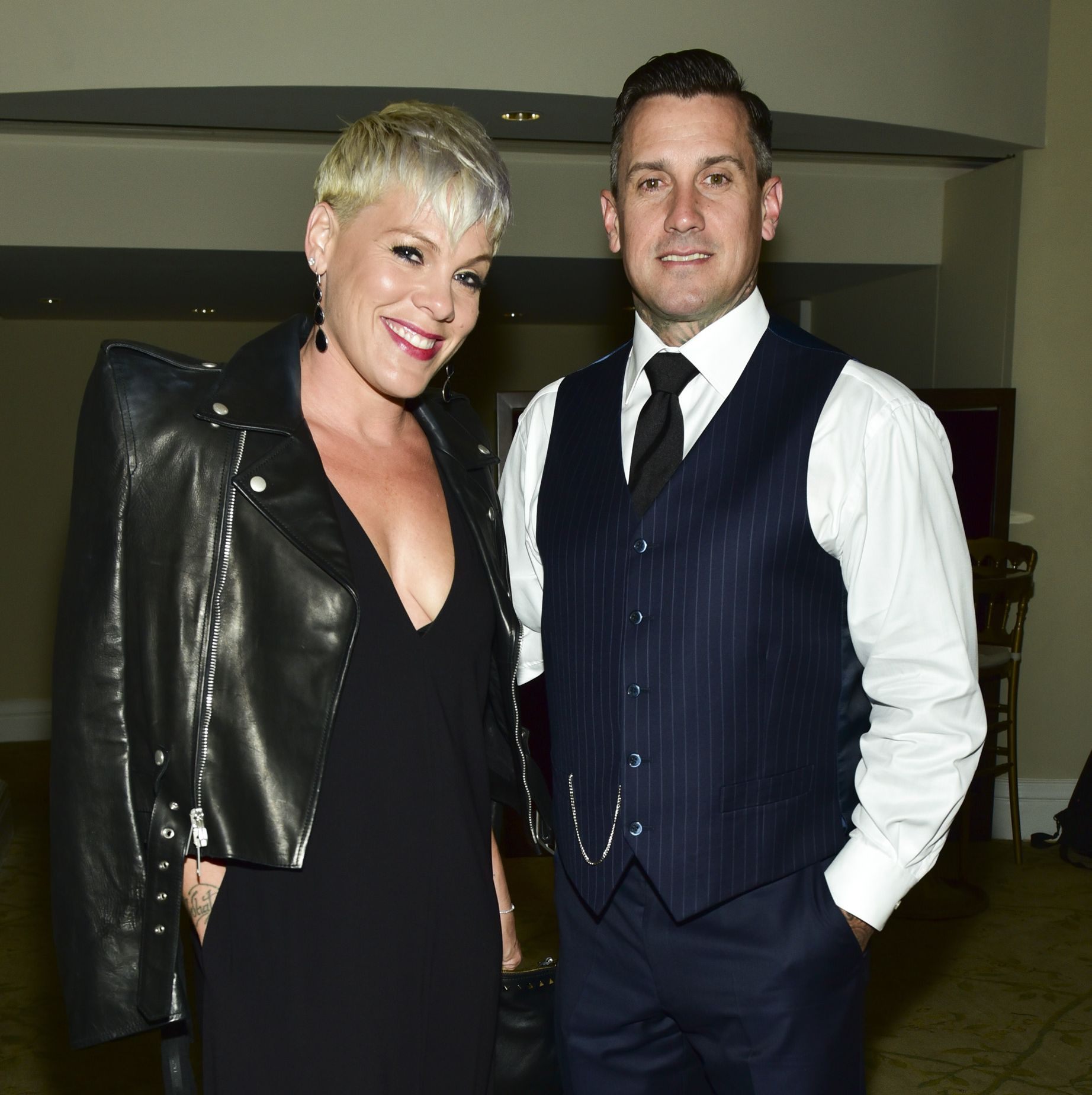 Pink Slashed Her Husband Carey Hart's Tires On Thanksgiving And Needed 13 Stitches