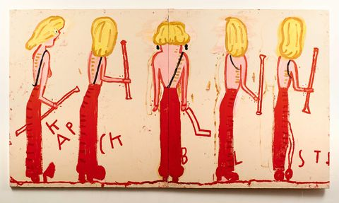 Now You Can Carry A Rose Wylie Artwork With You Everywhere
