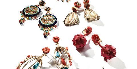 Jewellery, Fashion accessory, Body jewelry, Gemstone, Earrings, Emerald, Turquoise,