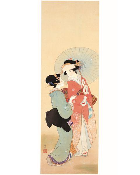 秋田県立近代美術館 ときめく美人画