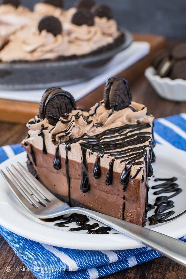 no bake chocolate cream pie - chocolate pie recipes
