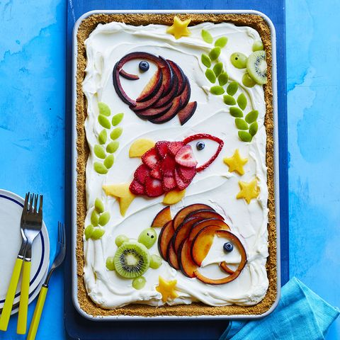 No-Bake Summer Fruit Tart recipe