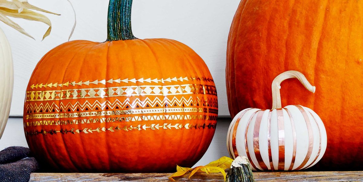 40 Extremely Easy No-Carve Pumpkin Ideas