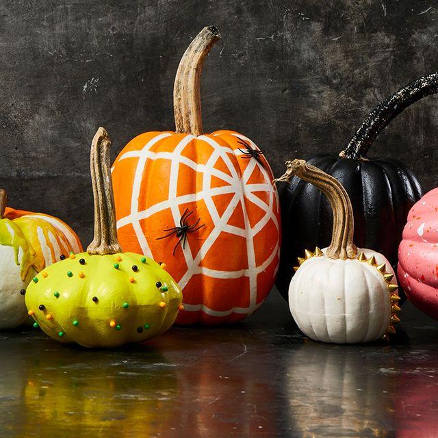40+ Creative No-Carve Pumpkin Decorating Ideas For