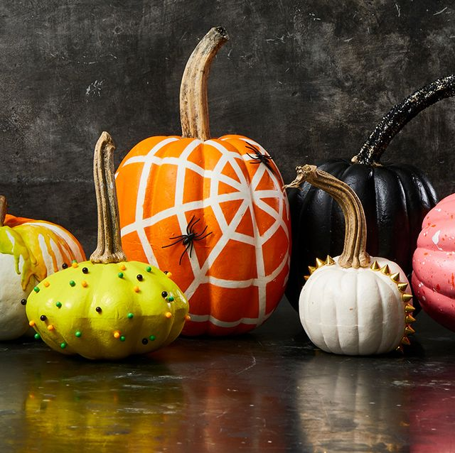 72 Easy No Carve Pumpkin Decorating Ideas Cute Pumpkin Decor Ideas