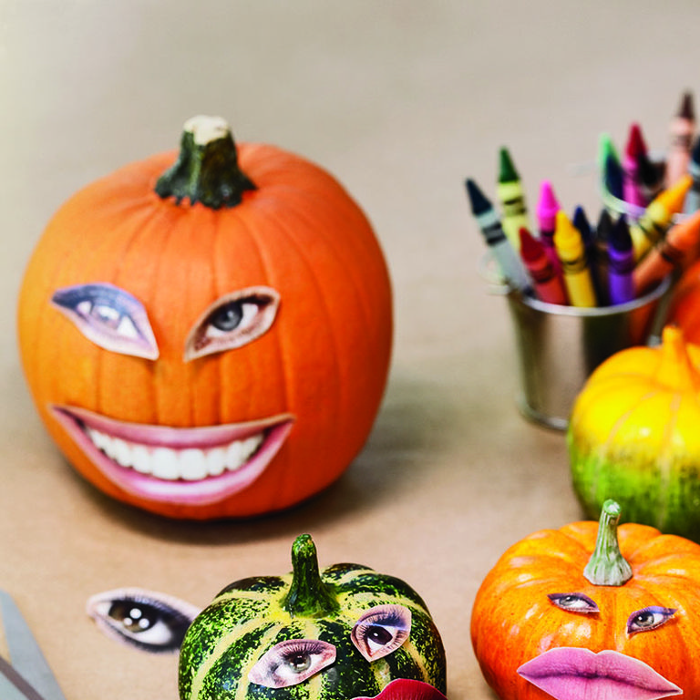 34 No Carve Pumpkin Ideas , Painted, Decorated Pumpkin Ideas
