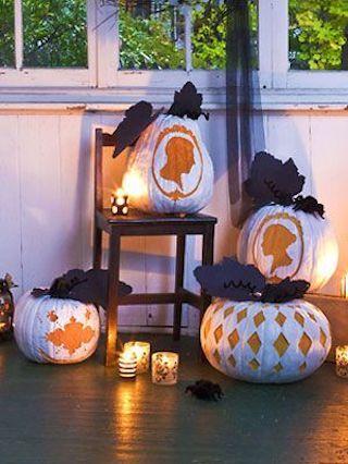 34 No Carve Pumpkin Ideas , Painted, Decorated Pumpkin Ideas