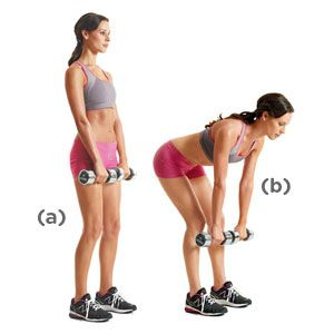 Image result for dumbbell deadlift