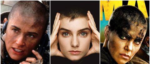 Face, Forehead, Hair, Nose, Eyebrow, Facial expression, Cheek, Chin, Head, Skin,